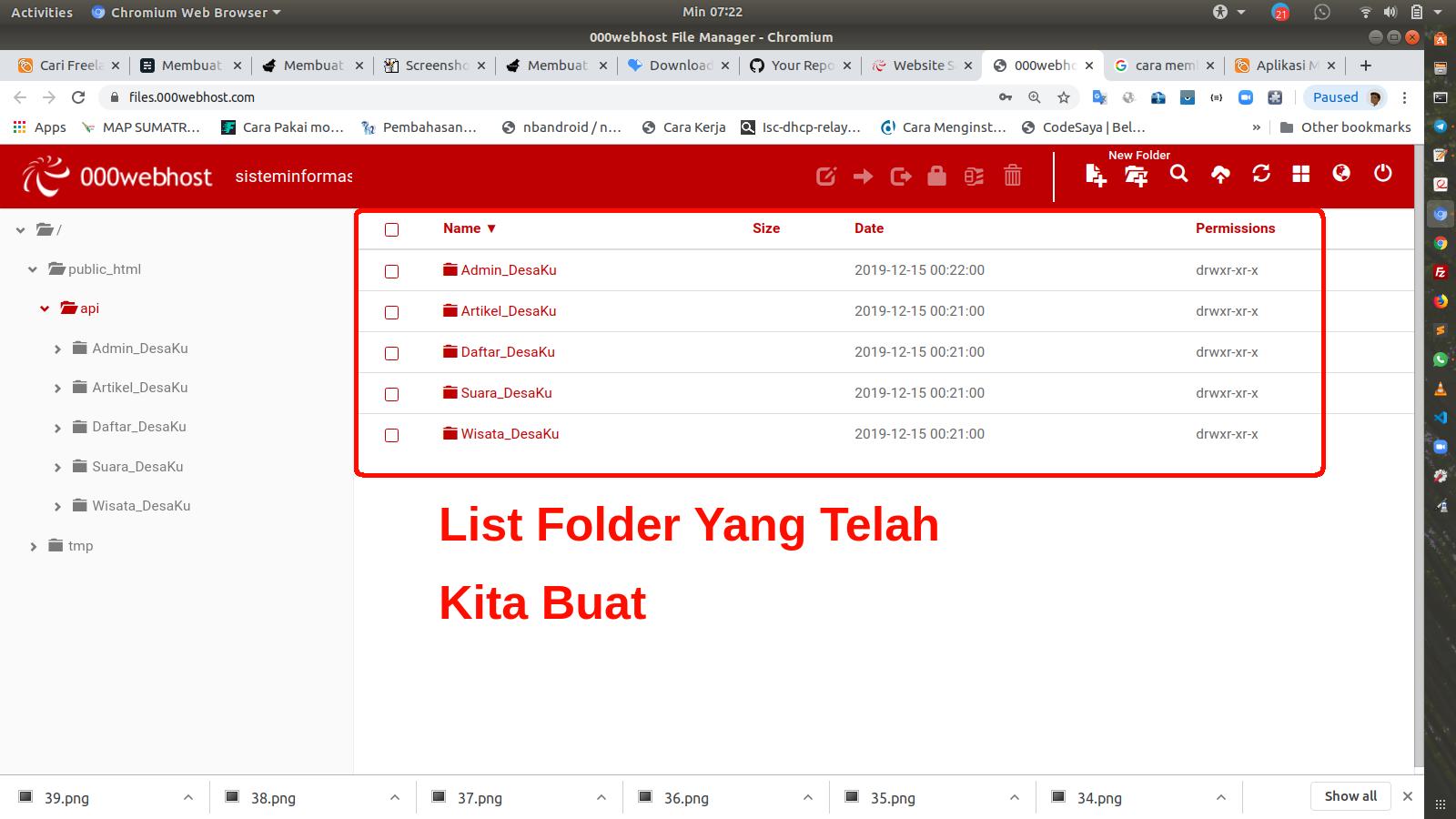 listFolder