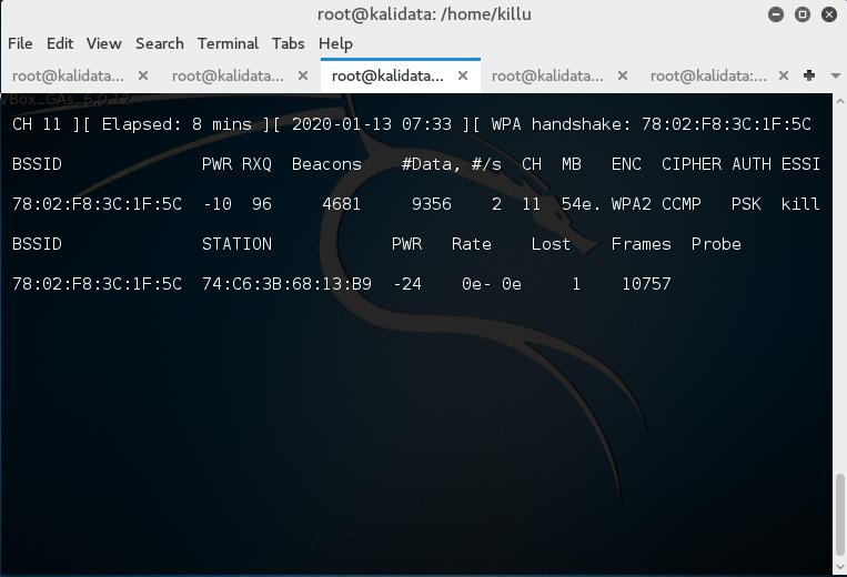 4.-monitoring-salah-satu-wifi-yang-aktif-dan-jumlah-paket-pada-wifi-tersebut-beserta-mac-client-yang-konek